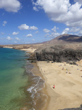 Playa del Papagayo  Near Playa Blanca  Lanzarote  Canary Islands  Spain