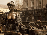 Statue of Molly Malone  Dublin  Ireland  Europe