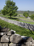 Dry Stone Walls  Hartington  Peak District  Derbyshire  England  United Kingdom  Europe