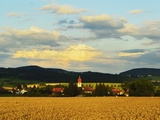 Village of Sunthausen  Near Villingen-Schwenningen  Black Forest  Schwarzwald-Baar  Germany