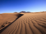 Dune Patterns in the Atacama Desert  Chile  South America
