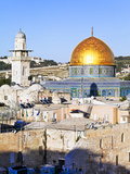 Dome of the Rock  Temple Mount  Old City  UNESCO World Heritage Site  Jerusalem  Israel