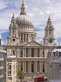 St Paul's Cathedral Designed by Sir Christopher Wren  London  England  United Kingdom  Europe