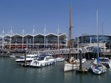 The Gunwharf  Marina and Shopping Centre  Portsmouth  Hampshire  England  United Kingdom  Europe