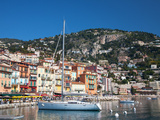 Colourful Buildings  Villefranche  Alpes-Maritimes  Provence-Alpes-Cote D'Azur  French Riviera
