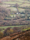 An Isolated Farmhouse in Dartmoor National Park  Devon  England  United Kingdom  Europe