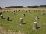Woodhenge  Showing Circular Design  Amesbury  Wiltshire  England  United Kingdom  Europe