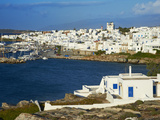Naoussa  Paros  Cyclades  Aegean  Greek Islands  Greece  Europe