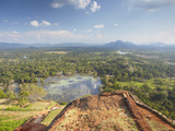 View from Summit of Sigiriya  UNESCO World Heritage Site  North Central Province  Sri Lanka  Asia