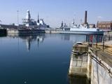 Historic Docks  Portsmouth  Hampshire  England  United Kingdom  Europe