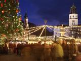 Christmas Market  Salzburg  Austria  Europe