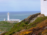 South Stack (Ynys Lawd)  an Island Situated Just Off Holy Island  North West Coast of Anglesey  UK