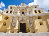 Nuestra Senora de La Merced Cathedral  Antigua  UNESCO World Heritage Site  Guatemala