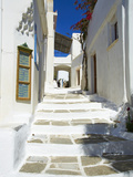 Traditional Village of Lefkes  Paros  Cyclades  Aegean  Greek Islands  Greece  Europe