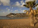 Playa de Las Teresitas in Early Morning Light  Tenerife  Canary Islands  Spain  Europe