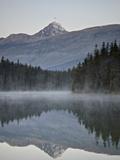 Mount Edith Cavell in Leach Lake  Jasper Nat'l Park  UNESCO World Heritage Site  Alberta  Canada