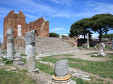 Roman Forum  Ostia Antica  Rome  Lazio  Italy  Europe