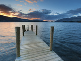 Ashness Jetty Towards Skiddaw  Barrow Bay  Derwent Water  Lake District Nat'l Park  England