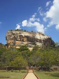 Sigiriya  UNESCO World Heritage Site  North Central Province  Sri Lanka  Asia