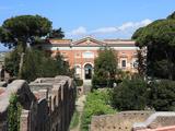 Museum Building  Ostia Antica  Rome  Lazio  Italy  Europe