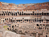 The Amphitheatre of the Colosseum  Rome  Lazio  Italy  Europe