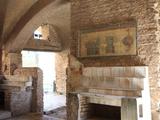 Decoration  Ostia Antica  Rome  Lazio  Italy  Europe