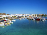 Port  Kastro  Antiparos  Paros  Cyclades  Aegean  Greek Islands  Greece  Europe