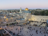 Jewish Quarter of Western Wall Plaza  Old City  UNESCO World Heritage Site  Jerusalem  Israel