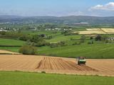 Dartmoor from Near Kingsbridge  Devon  England  United Kingdom  Europe