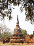Stupa at Wat Phra Si Sanphet  Ayutthaya City  UNESCO World Heritage Site  Thailand