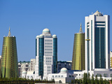 City Skyline  Astana  Kazakhstan  Central Asia  Asia