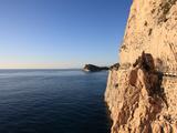Cliff  Capo Noli  Liguria  Italy
