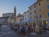 Piran  Istria  Adriatic Coast  Slovenia  Europe