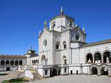 Monumental Cemetery by Architect Carlo Maciachini  Milan  Lombardy  Italy  Europe