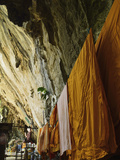 Monks&#39; Robes  Tiger Cave Temple (Wat Tham Suea)  Krabi Province  Thailand  Southeast Asia  Asia