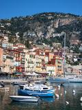 Colourful Buildings  Villefranche  Alpes-Maritimes  Provence-Alpes-Cote D'Azur  French Riviera
