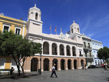 Plaza de Armas  Alcaldia  City Hall  Old San Juan  San Juan  Puerto Rico  West Indies  USA