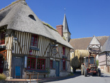 Auberge Des Deux Tonneaux (Two Barrels Inn)  Ancient Norman Cottage  Pierrefitte En Auge  France