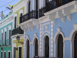 The Colonial Town  San Juan  Puerto Rico  West Indies  Caribbean  USA  Central America