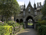 Holly Village  Grade 2 Listed Gothic Style Buildings  Architect Henry Darybishire  London  England