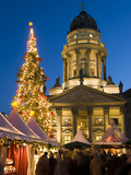 Christmas Market  Gendarmenmarkt  Berlin  Germany  Europe