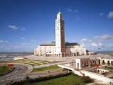 Hassan II Mosque  the Third Largest Mosque in the World  Casablanca  Morocco  North Africa  Africa
