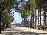 Paseo de La Princesa (Walkway of Princess)  Old San Juan  San Juan  Puerto Rico  West Indies  USA