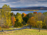 Grand Isle on Lake Champlain  Vermont  New England  United States of America  North America