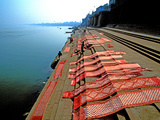 Dhobi Ghat  Varanasi  Uttar Pradesh  India  Asia