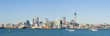 Panorama of the Auckland City Skyline  Auckland  North Island  New Zealand  Pacific