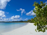 White Sand Beach  Bay de Kanumera  Ile Des Pins  New Caledonia  Melanesia  South Pacific  Pacific