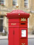 Vintage Letter Box  Great Pulteney Street  Bath  UNESCO World Heritage Site  Avon  England  UK