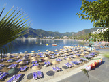 Icmeler Beach  Marmaris  Anatolia  Turkey  Asia Minor  Eurasia