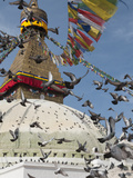 Boudhnath Stupa  One of the Holiest Buddhist Sites in Kathmandu  Nepal  Asia